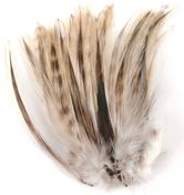 Natural - Strung Badger Feathers