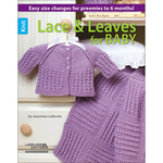 Knit Lace & Leaves For Baby - Leisure Arts
