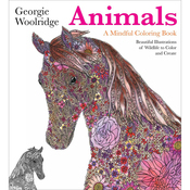 Animals, A Mindful Coloring Book - St. Martin's Books