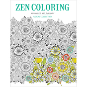 Floral Collection, Zen Coloring - Guild Of Master Craftsman Books