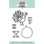 """Turkey Talk - Neat & Tangled Clear Stamps 3""""X4"""""""