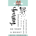 """Very Merry - Neat & Tangled Clear Stamps 4""""X6"""""""