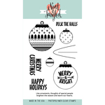 "Happy Ornaments - Neat & Tangled Clear Stamps 4""X6"""