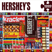 "Hershey's Matrix - Jigsaw Puzzle 1000 Pieces 19.25""x26.75"""