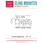 "Little Naughty - Whipper Snapper Cling Stamp 2.5""X3.5"""