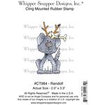 "Randolf - Whipper Snapper Cling Stamp 4""X6"""