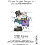 """Snowpals - Whipper Snapper Cling Stamp 4""""X6"""""""