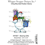 "Bearing Gifts - Whipper Snapper Cling Stamp 4""X6"""