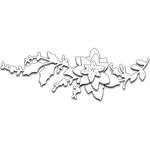 Poinsettia Bough - Penny Black Creative Dies