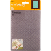 "Mosaic - Cuttlebug 5""X7"" Embossing Folder"