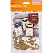 Animal Crackers - Cuttlebug A2 Cut & Emboss Die