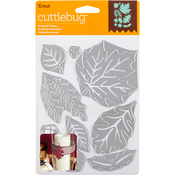 Seasonal Foliage, 10/Pkg - Cuttlebug Cut & Emboss Die