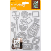 Lost And Found, 16/Pkg - Cuttlebug Cut & Emboss Die