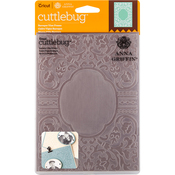 "Baroque Vine Frame - Cuttlebug 5""X7"" Embossing Folder By Anna Griffin"