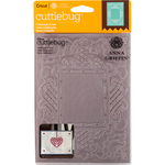 "Calligraphy Frame - Cuttlebug 5""X7"" Embossing Folder By Anna Griffin"