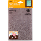 "Modern Vines - Cuttlebug 5""X7"" Embossing Folder By Anna Griffin"