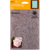 "Aviary - Cuttlebug 5""X7"" Embossing Folder By Anna Griffin"