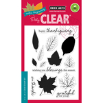 "Color Layering Grateful Leaves - Hero Arts Clear Stamps 4""X6"""