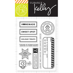 """Holiday Treats - Kelly Purkey Clear Stamps 4""""X6"""""""
