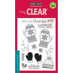 """Holiday Mittens - Hero Arts Clear Stamps 4""""X6"""""""
