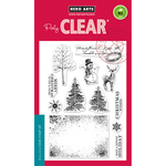 "Vintage Christmas Wishes - Hero Arts Clear Stamps 4""X6"""