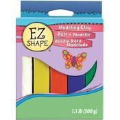 Primary - Ez Shape Non-Hardening Modeling Clay 1.1lb 5/Pkg
