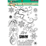 "Merry Jingle - Penny Black Clear Stamps 5""X7"""