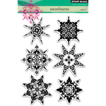 """Snowbursts - Penny Black Clear Stamps 5""""X7"""""""
