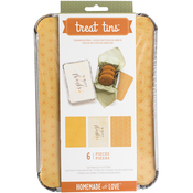 Thanksgiving - Homemade With Love Food Craft Tins Large 3/Pkg