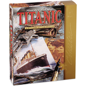 "Murder On The Titanic - Jigsaw Shaped Puzzle 1000 Pieces 23""X29"""
