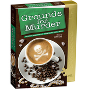 """Grounds For Murder - Jigsaw Shaped Puzzle 1000 Pieces 23""""X29"""""""