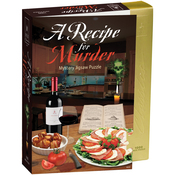 "Recipe For Murder - Jigsaw Shaped Puzzle 1000 Pieces 23""X29"""