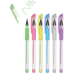Pastels - Living In Color Color-Flow Gel Pen Set 6/Pkg
