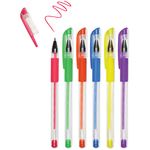 Neons - Living In Color Color-Flow Gel Pen Set 6/Pkg