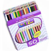 Assorted Colors - LolliZ Colored Pencils 50/Pkg