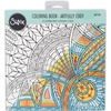 Artfully Edgy By Jen Long - Sizzix Coloring Book Sizzix-Coloring Book: Artfully Edgy By Jen Long. Color your worries away! Sizzix coloring books unleash your creativity with beautiful hand-drawn designs, including multiple copies for layering and personalizing backgrounds. This package contains one coloring book with twenty-four 8x8 inch coloring pages in eight designs (three of each design). Imported.
