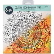 Bohemian Spirit By Lindsey Serata - Sizzix Coloring Book
