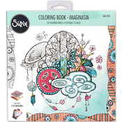 Imaginasia By Katelyn Lizardi - Sizzix Coloring Book
