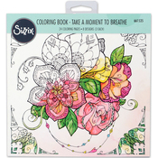 Take A Moment By Katelyn Lizardi  - Sizzix Coloring Book