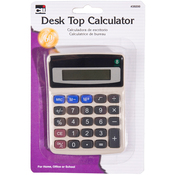 Assorted Colors - Desktop Calculator 8-Digit