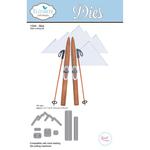 Skis - Elizabeth Craft Metal Die
