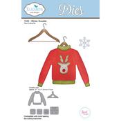 Winter Sweater - Elizabeth Craft Metal Die