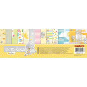 "6 Double-Sided & 3 Single Sided - ScrapBerry's Sweet Dreams Paper Pack 12""X12"" 9/Pkg"