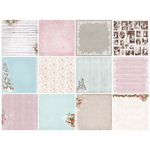 "13 Designs/1 Each - ScrapBerry's Winter Joy Paper Pack 12""X12"" 13/Pkg"
