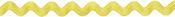 "Yellow - Rick Rack Trim 5/16""X6ft"