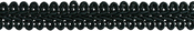 "Black - Chinese Braid Trim 1/2""X4ft"