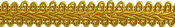 "Flag Gold - Chinese Braid Trim 1/2""X4ft"