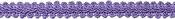 """Lilac - Chinese Braid Trim 1/2""""X4ft"""