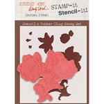 """Garden Fresh - Studio 490 Stamp It Stencil It 7""""X8.5"""""""