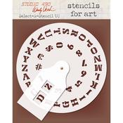 Uppercase - Studio 490 Select-A-Stencil